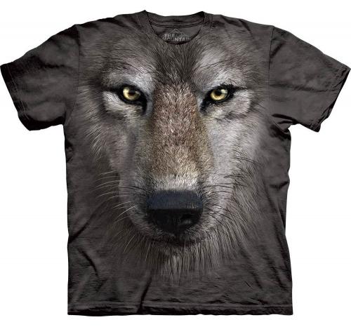Футболка «Wolf Face»