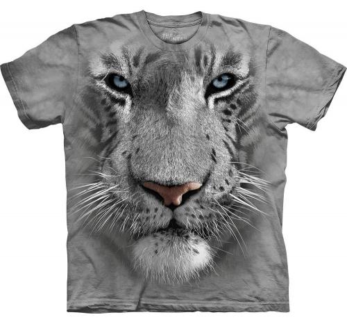 Футболка «White Tiger Face»