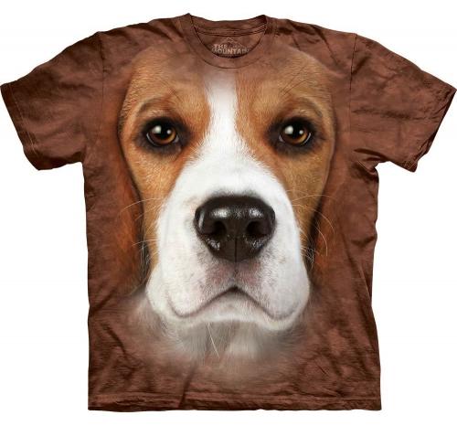 Футболка «Beagle Face»