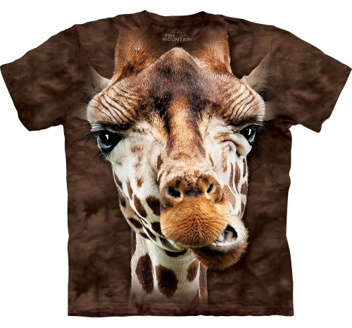 Футболка 3D «Giraffe» с жирафом