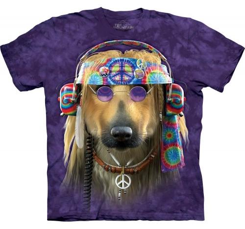 Футболка «Groovy dog»