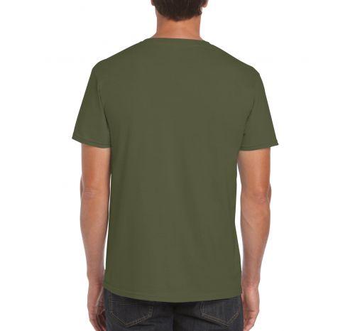 Мужская футболка Regent цвет оливковый army