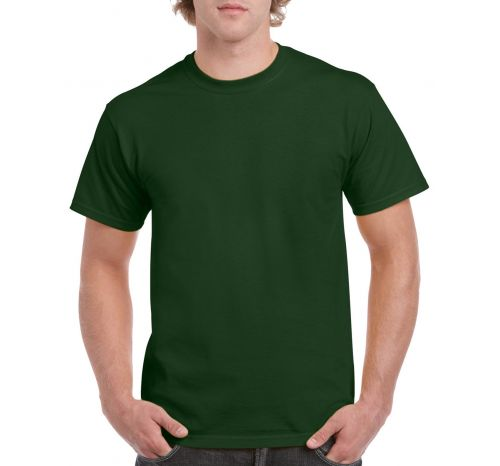 Мужская футболка Imperial цвет тёмно-зелёный bottle green