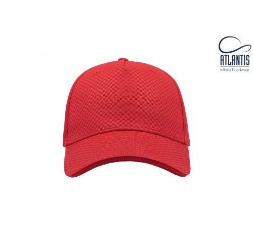Бейсболка кепка Gear цвет красный