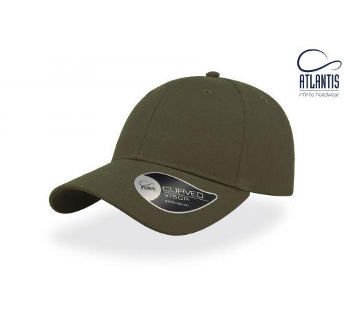 Бейсболка кепка Hit цвет оливковый