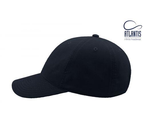 Бейсболка кепка Creep цвет синий вельвет
