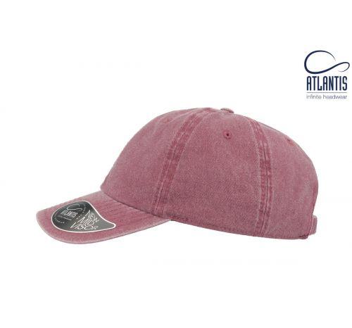Бейсболка кепка Digg цвет бордовый