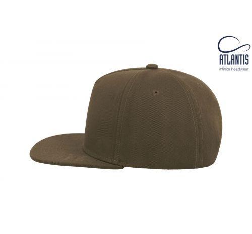 Бейсболка кепка Snap Five цвет оливковый