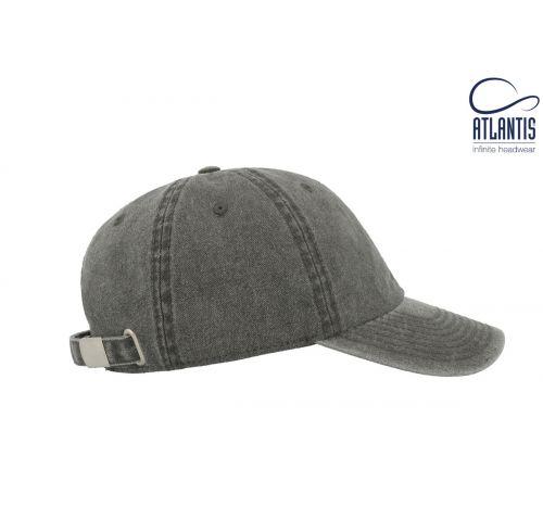Бейсболка кепка Digg цвет чёрный
