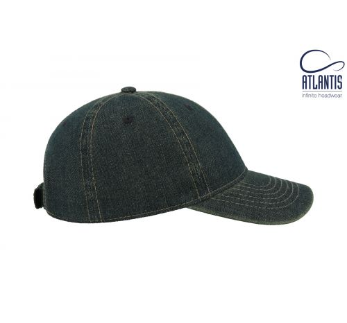 Бейсболка кепка Dynamic цвет синяя джинса