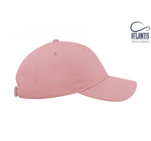 Бейсболка кепка Hit цвет светло-розовый