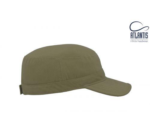 Армейская кепка Tank цвет оливковый