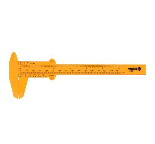 Штангенциркуль пластиковый для творчества, длина измерения 150 мм