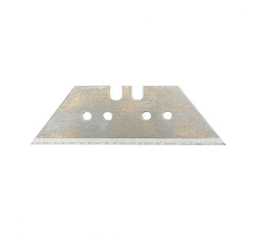Лезвия трапециевидные 61х33х0,5 мм из стали SK5; 10 штук в пенале
