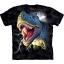 Футболка «Lightning Rex» с динозавром тирекс и молнией