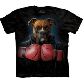 Футболка «Boxer Rocky» с собакой боксёр Рокки
