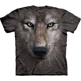 Футболка «Wolf Face» с волком