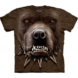Футболка Zombie Pit Bull Face»