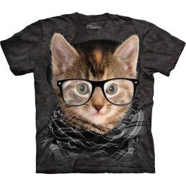 Футболка «Hipster Kitten»