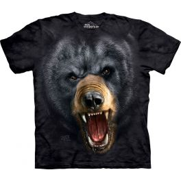 Футболка «Aggressive nature: black bear»