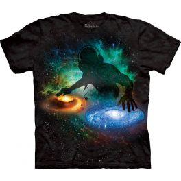 Футболка «Galaxy DJ» с космосом и диджеем