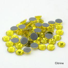 Стразы Flat Backs Hotfix (термостразы) цвет citrine