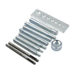 Набор инструмента для установки швейной фурнитуры, 11 предметов