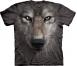 Футболка 3D «Wolf Face» с волком