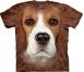 Футболка «Beagle Face» с биглем