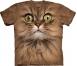 Футболка «Big face brown cat»