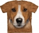 Футболка 3D «Big face Jack Russell terrier» с собакой рассел