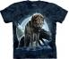 Футболка «Bad moon wolves» со свирепым волком и Луной